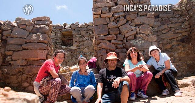 TEMPLO DEL SOL EN LA ISLA DEL SOL - BOLIVIA