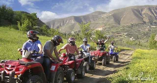 Tour en cuatrimoto en Maras Moray Cusco