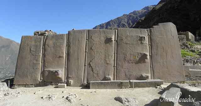 Fortaleza de Ollantaytambo Valle Sagrado Cusco
