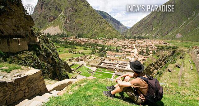 Ollantaytambo Resitencia Inca Valle Sagrado Cusco