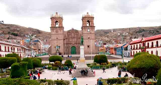 Plaza de Armas en Puno
