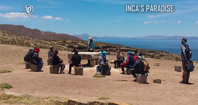 CHINCANA EN LA MESA CEREMONIAL ISLA DEL SOL - BOLIVIA