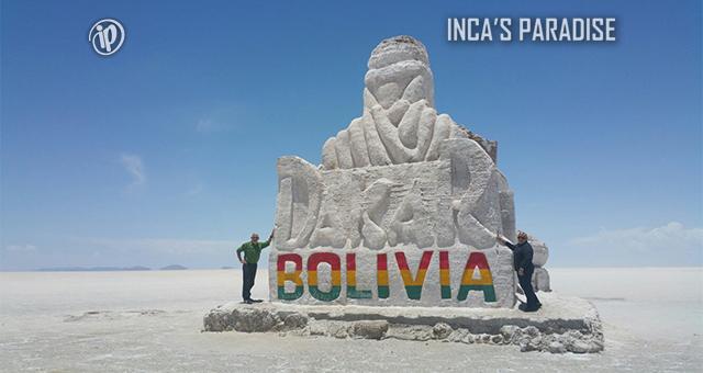 DAKAR EN EL SALAR DE UYUNI - BOLIVIA