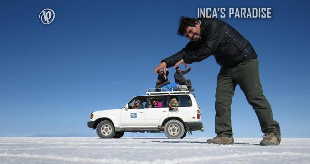 DIVERSION EL EL SALAR DE UYUNI - BOLIVIA