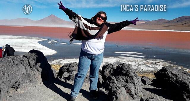 LAGUNA COLORADA EN UYUNI - BOLIVIA