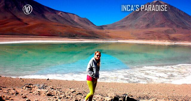 LAGUNA VERDE EN UYUNI - BOLIVIA
