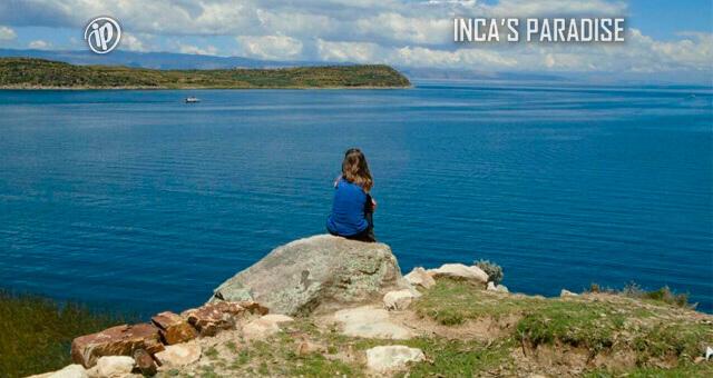 VISTA AL LAGO EN LA ISLA DEL SOL - BOLIVIA