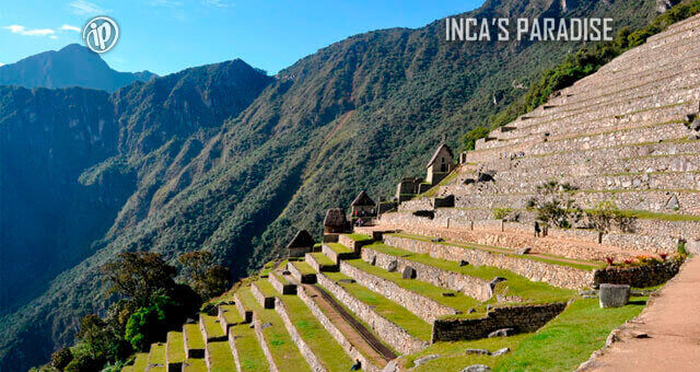 Andenes en Machu Picchu Cusco