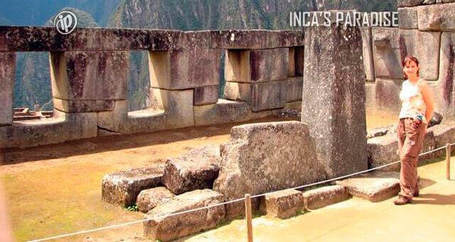 Templo tres ventas en Machu Picchu Cusco