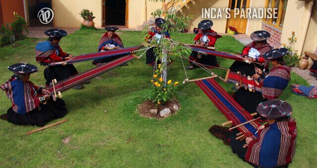 Textileria Salineras en Maras Moray Cusco