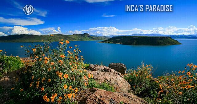 Paisaje frente a la Laguna Umayo