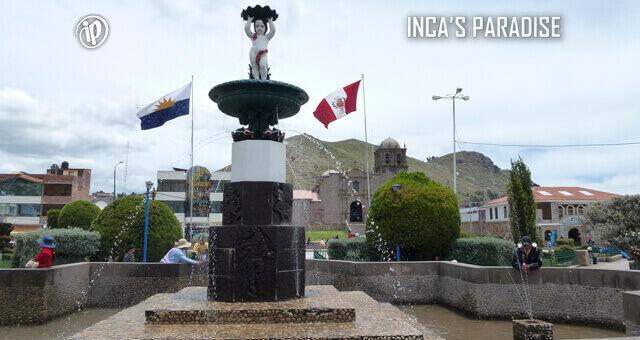 Plaza de Armas de Juli en Chucuito