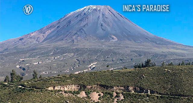 Volcan Misti en la Ciudad de Arequipa